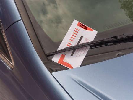 parking ticket: Parking ticket
