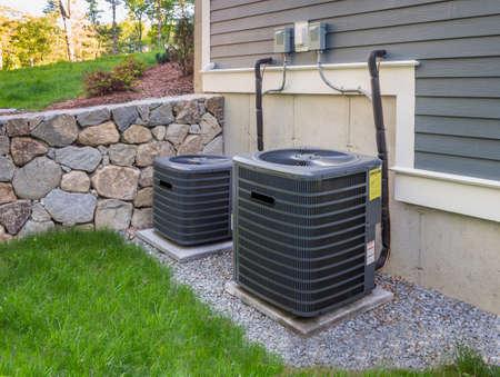 暖房および空調ユニット 写真素材
