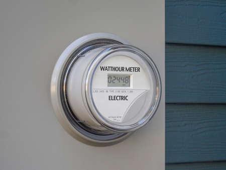 smart grid: Digital residential power supply meter