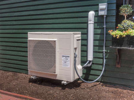Small outdoor hvac unit