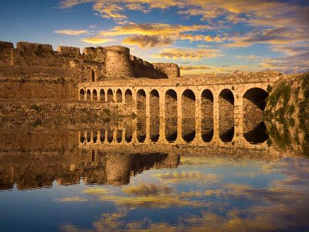 messenia: The Methoni Venetian Fortress in the Peloponnese, Messenia, Greece Editorial