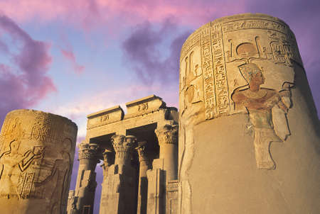 Temple of Kom-Ombo on the Nile, Eygpt