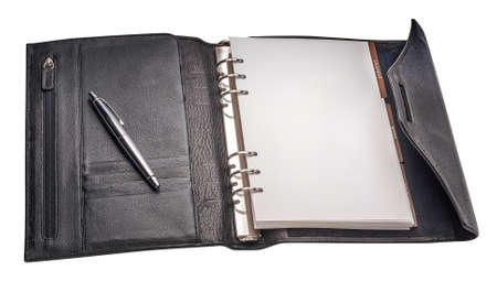 appointment book: Appointment book, isolated Stock Photo