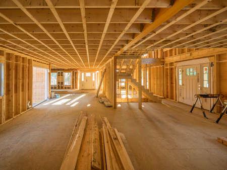 Wnętrze domu remodeling Zdjęcie Seryjne