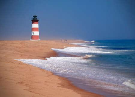 New England lighthouse, Cape Cod