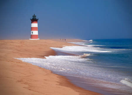 New England lighthouse, Cape Cod