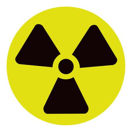 The radiation icon. Radiation symbol. radiation at chernobyl