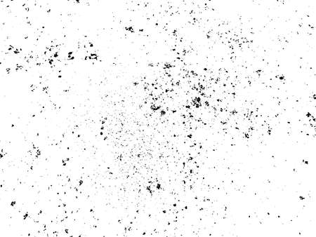 Vector grungy black isolated texture for your design. Dusty scratchy surface. Placard, brochure, packaging, illustration template, overlay, material design grunge texture. Vector EPS10 illustration