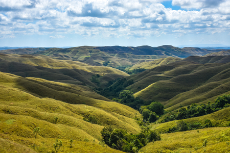 Warinding Hills, East Sumba Stock Photo