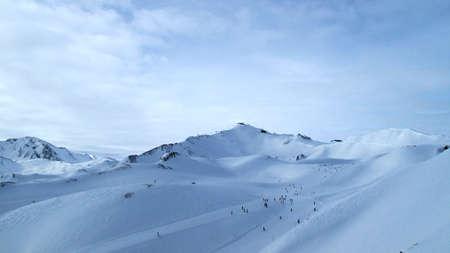 Sammnau in winter Switzerland photo
