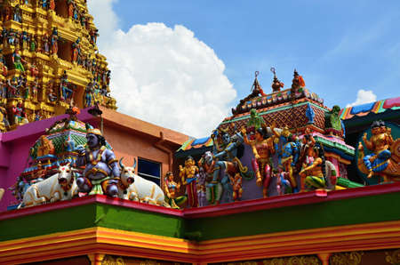 The largest Hindu temple in Sri Lanka - Matale Tamil temple s photo