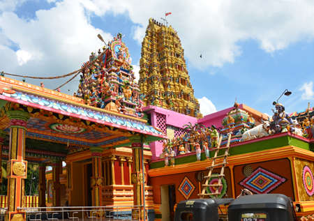 The largest Hindu temple in Sri Lanka - Matale Tamil temple  photo