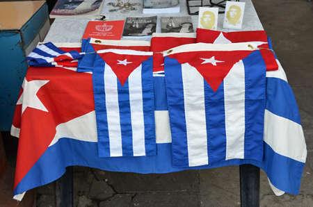 artefacts: Promotional souvenir, flag, gift,