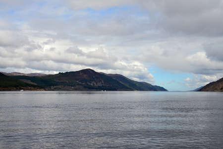 Loch Ness Lake in Scotland Stock Photo