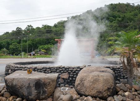Chiang Rai Thaweesin Hot Spring - Review of Thaweesin Hot Spring, Wiang Pa Pao, Thailand 免版税图像