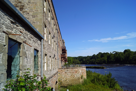 The Stanley Mills is a formerly producing textile mill in the Scottish village of Stanley in the Council Area Perth and Kinross.