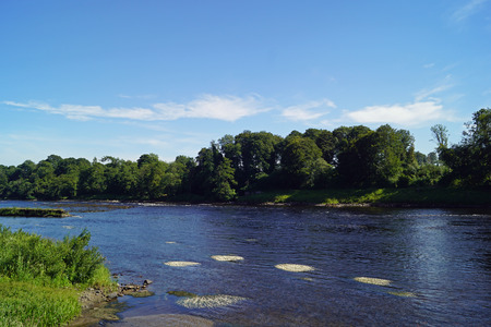 River at Stanley Mills. The Stanley Mills is a formerly producing textile mill in the Scottish village of Stanley in the Council Area Perth and Kinross.