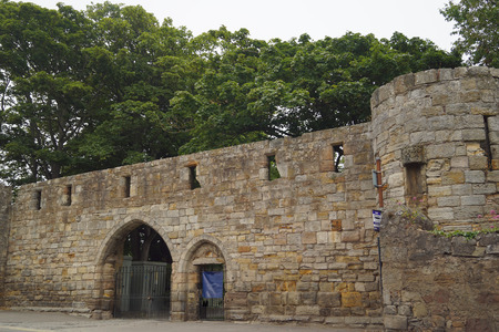 One of the last city gates still extant in Scotland, West Port was built in 1587 and rebuilt in 1843. Editorial