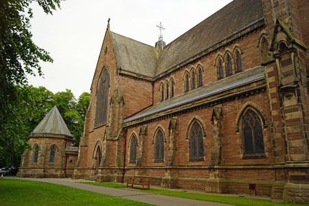 Inverness Cathedral, also known as the Cathedral of St. Andrew, is a cathedral of the Scottish Episcopal Church in the city of Inverness in Scotland near the banks of the River Ness.