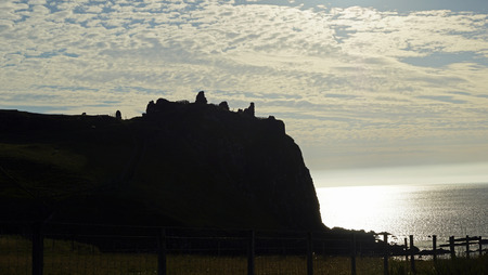 Duntulm Castle (Scottish Gaelic: Dùn Thuilm) is the ruin of a medieval fortification on the Trotternish peninsula on the island of Skye