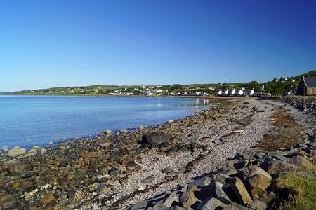 Gaineamh Mhor beach of Gairloch , Scotland, United Kingdom