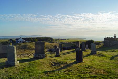 cemetery at Kilmuir , Flora MacDonalds Grave