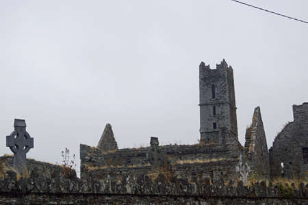 The Timoleague Friary is a former Franciscan monastery in Ireland. The branch of the Order was founded around 1400 in Timoleague in County Cork.