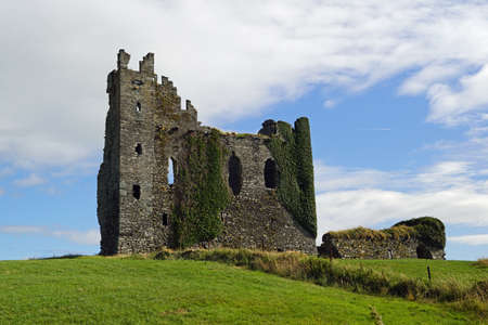 Ballycarbery Castle is a castle 3 miles from Cahersiveen, County Kerry, Ireland.