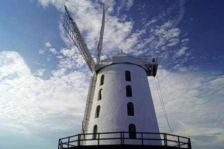 Blennerville Windmill is a tower mill in Blennerville, Co. Kerry. 版權商用圖片