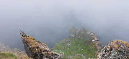 The island of Skellig Michael, also known as the Great Skellig, is home to one of Ireland's best-known, yet hard-to-reach medieval monasteries.