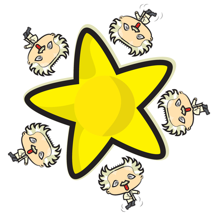 This file represents some little Einstein with yellow star