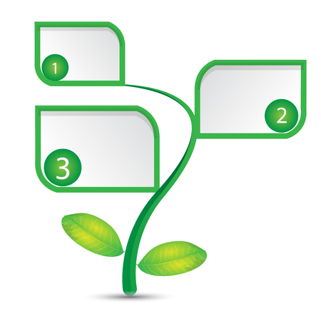 This illustration represents a tree with two leaves and three labels. Иллюстрация