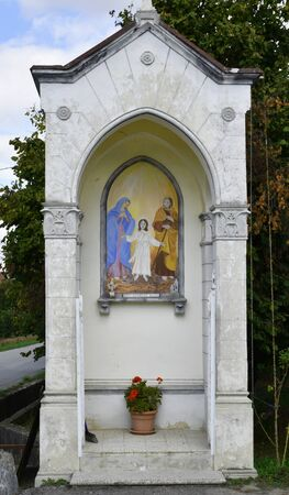 Pilare dedicated to Holy Mary Imagens - 137963261