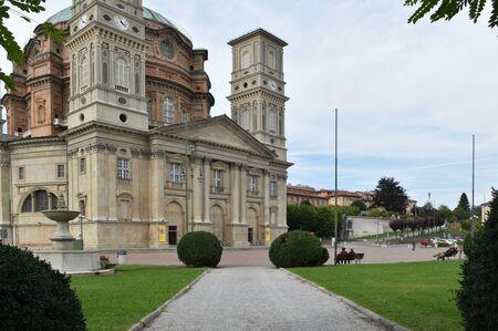 Sanctuary of Mondovi, Piedmont, Italy