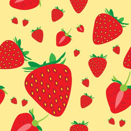 This illustration represents watermelon seamless pattern with a pink background