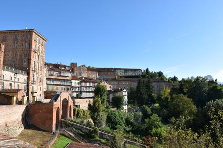 Panorama of Mondovi Piazza Editorial