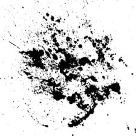 ink drops: Hand-made grunge texture. Abstract ink drops background. Black and white grunge texture. Vector watercolor grunge texture.