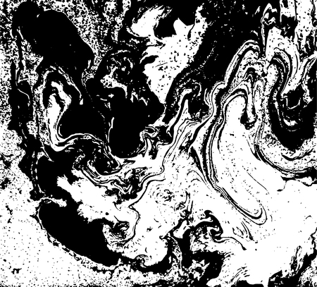 amazing wallpaper: Black and white marbled texture. Grunge vector illustration. Ink marble background. Abstract ebru paper. Liquid pattern.