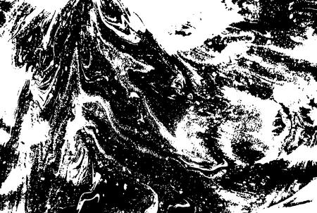 black grunge background: Black and white abstract background. Liquid marble pattern. Monochrome grunge texture. EPS10 Illustration