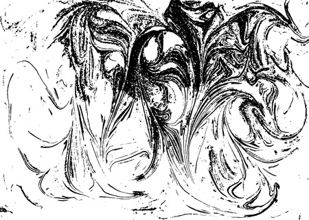 onyx: Vector black and white marbled abstract background. Liquid pattern. Grunge vector texture