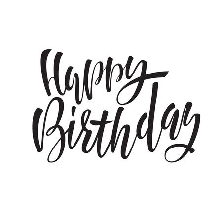 Feliz Cumpleaños Letras Para Invitación Y Tarjeta De Felicitación ...
