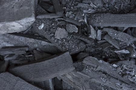Black coal texture. Charcoal background.