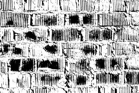 grain: Brick texture. Grunge stone packground. Vector pattern