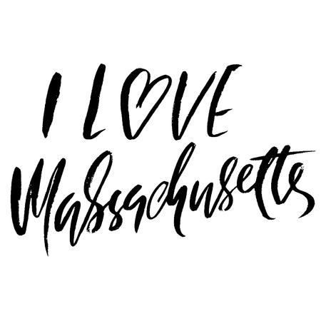 I love Massachusetts. USA state