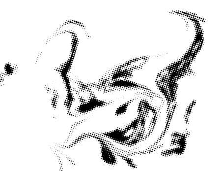 Black and white grunge texture. Illustration