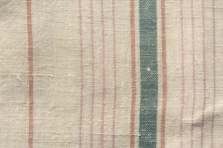 Natural linen rough texture. Fabric background Imagens