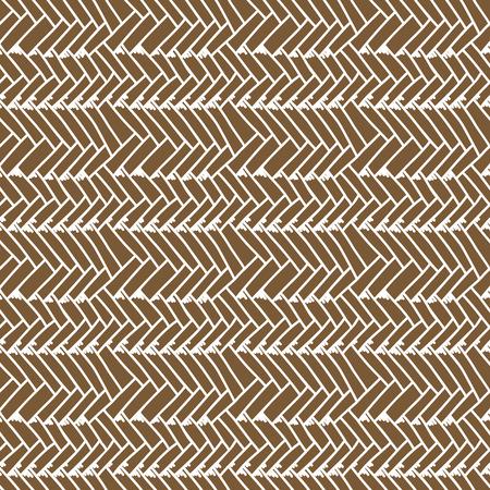 Woven seamless pattern. Braided mat. Vector Illustration Vetores