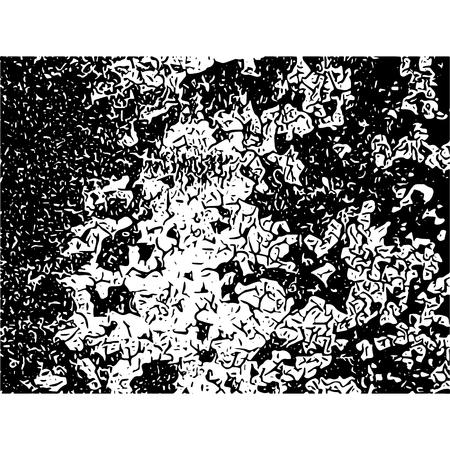 Cracked texture. Cracks and scratches. Vector grunge illustration. Çizim