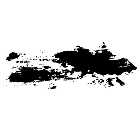 Ink vector brush stroke background. Vector illustration. Grunge texture