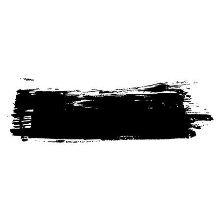 Ink vector brush stroke background. Vector illustration. Grunge texture